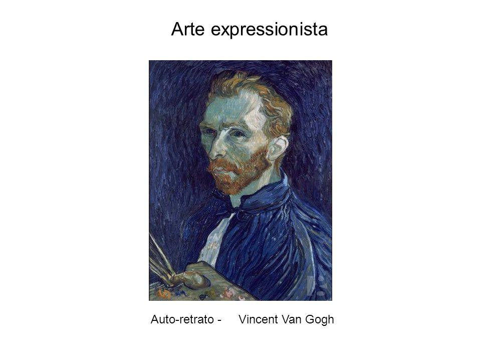 Auto-retrato - Vincent Van Gogh