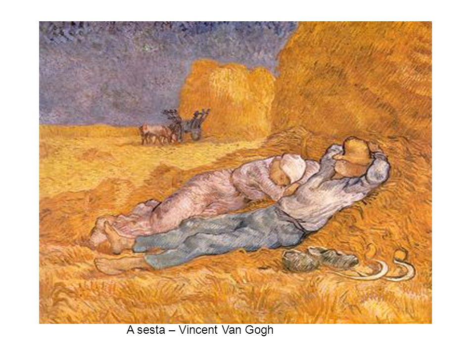 A sesta – Vincent Van Gogh
