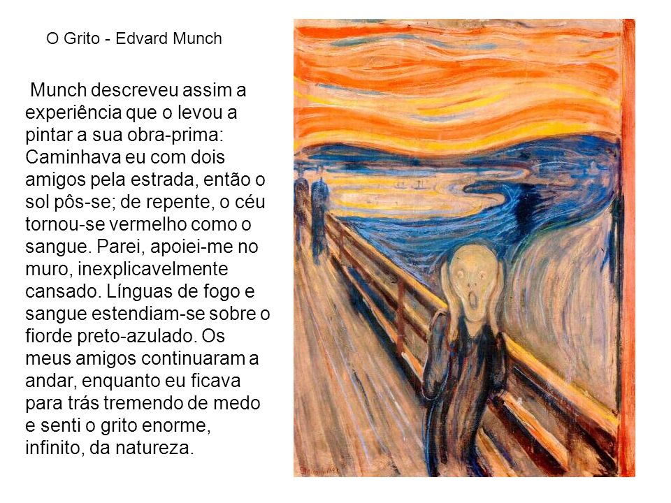 O Grito - Edvard Munch