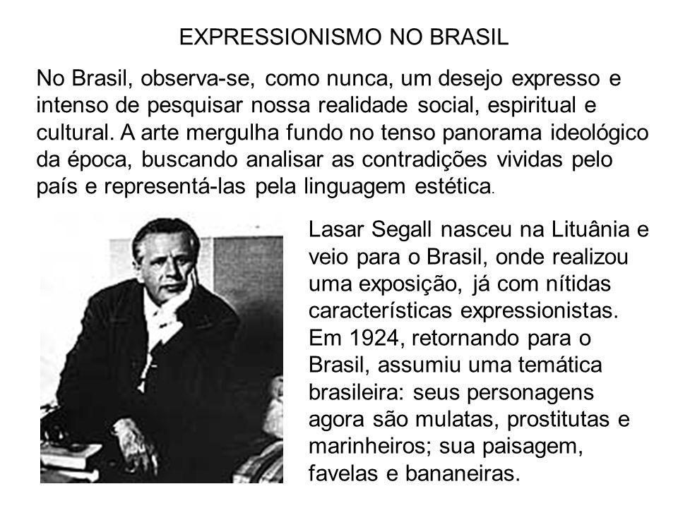 EXPRESSIONISMO NO BRASIL
