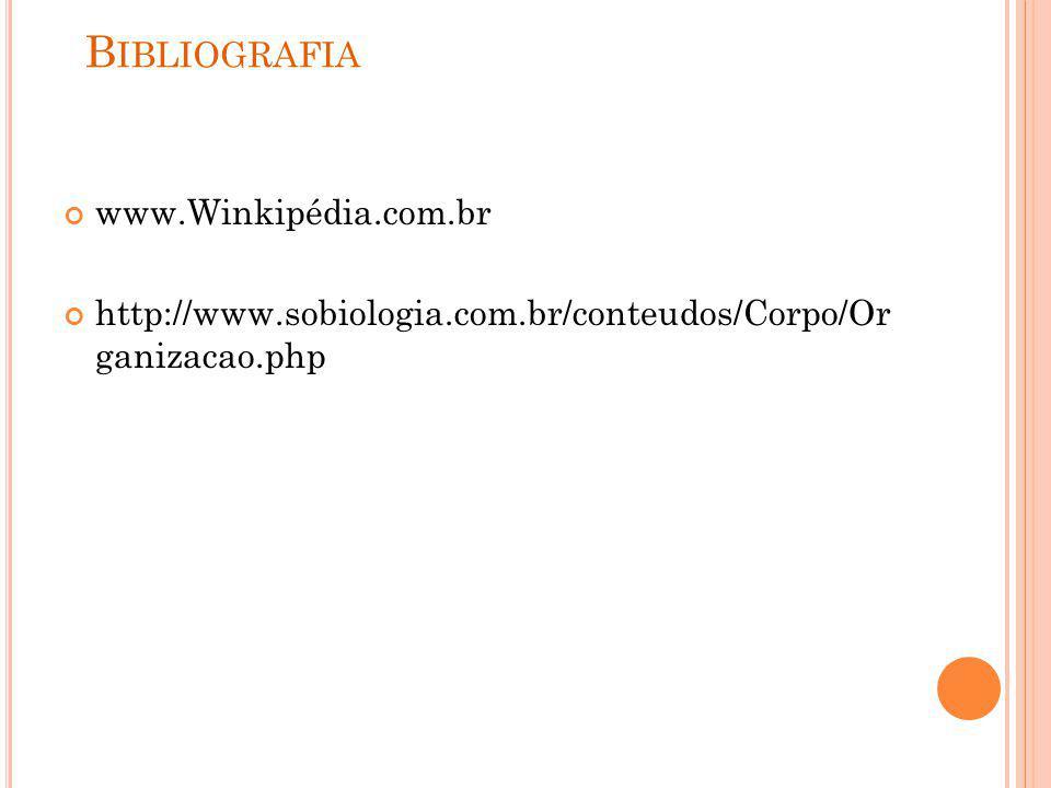 Bibliografia www.Winkipédia.com.br