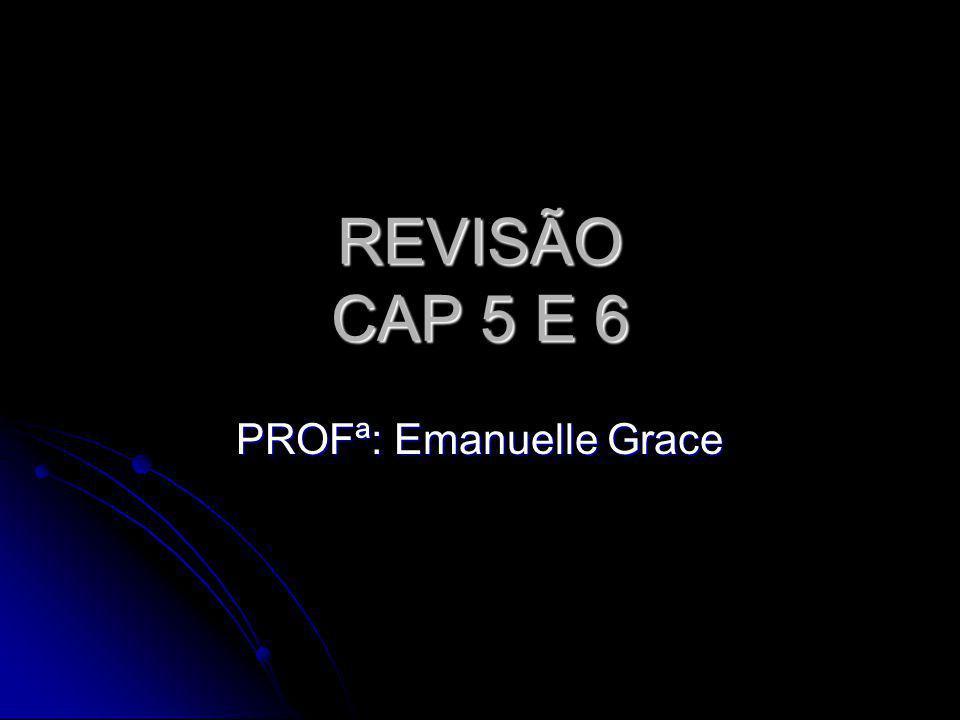 PROFª: Emanuelle Grace