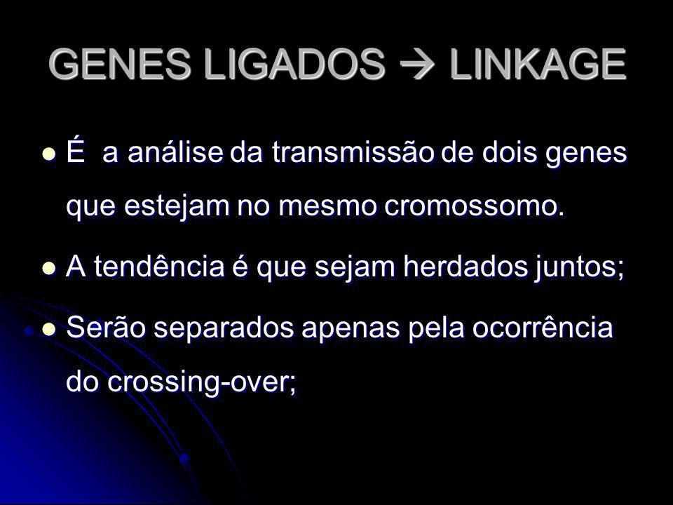 GENES LIGADOS  LINKAGE