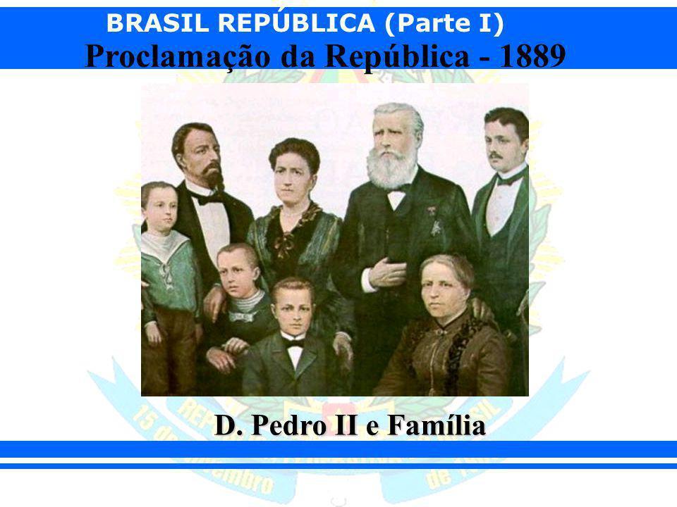 D. Pedro II e Família