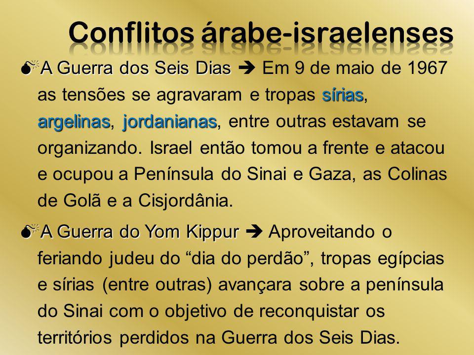 Conflitos árabe-israelenses
