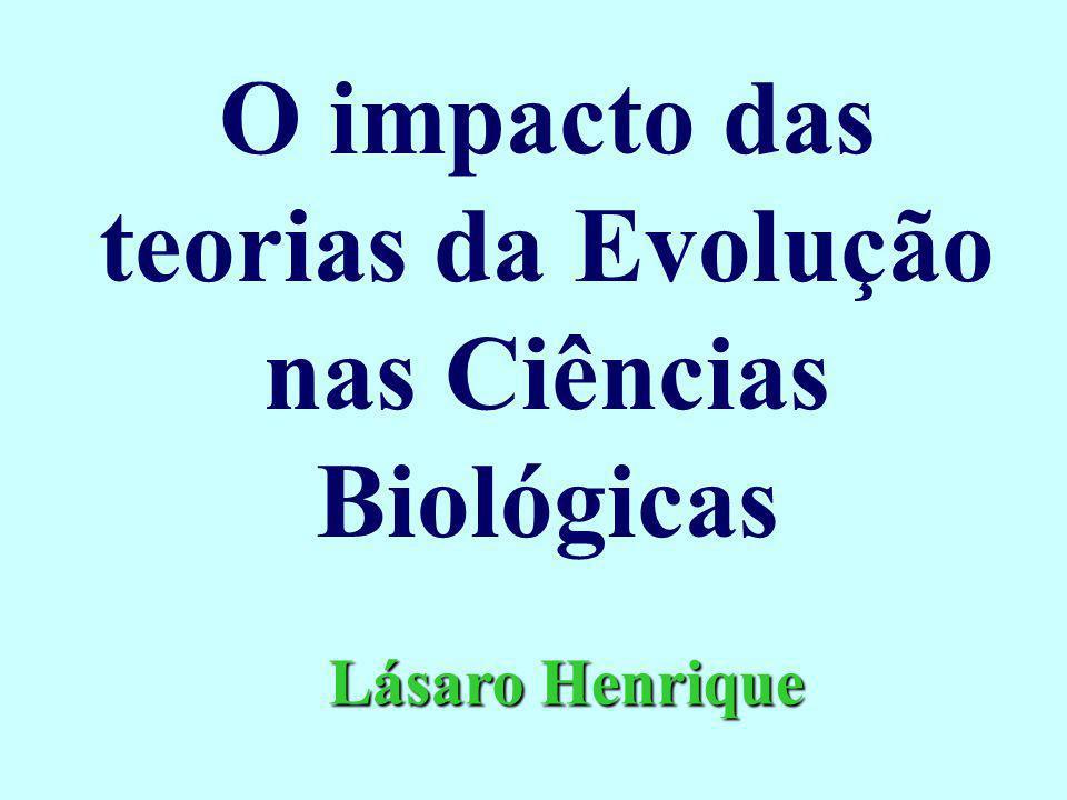O impacto das teorias da Evolução nas Ciências Biológicas