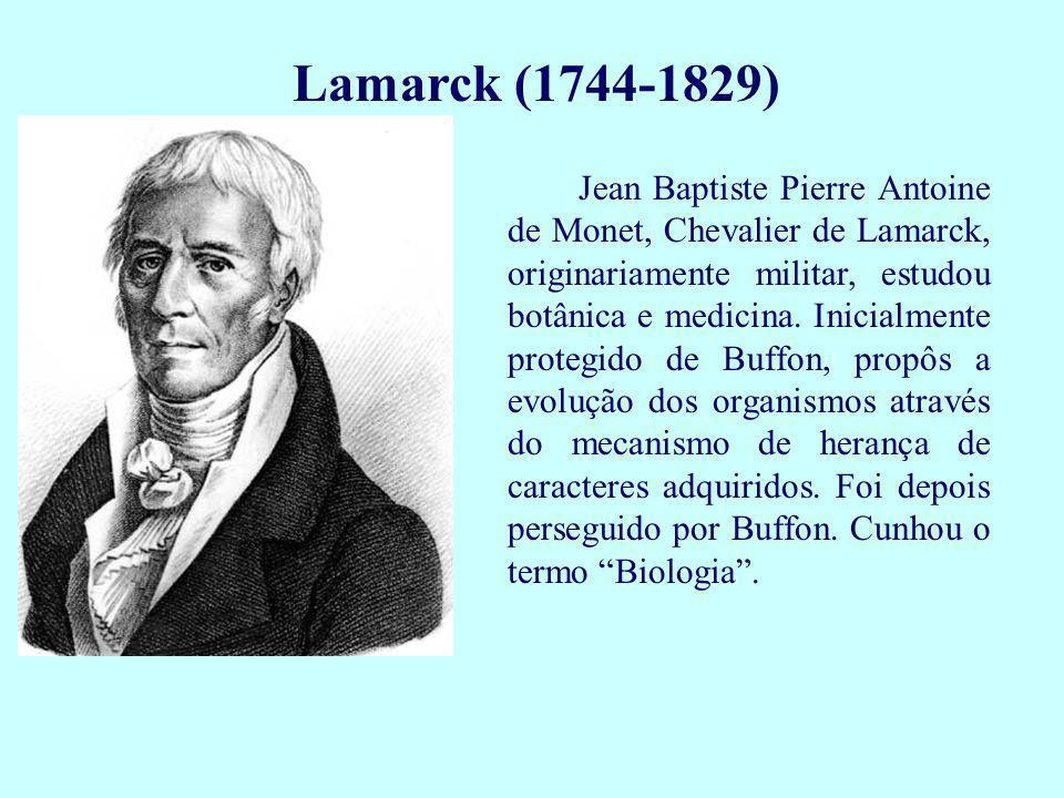 Lamarck (1744-1829)
