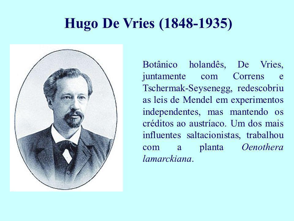 Hugo De Vries (1848-1935)