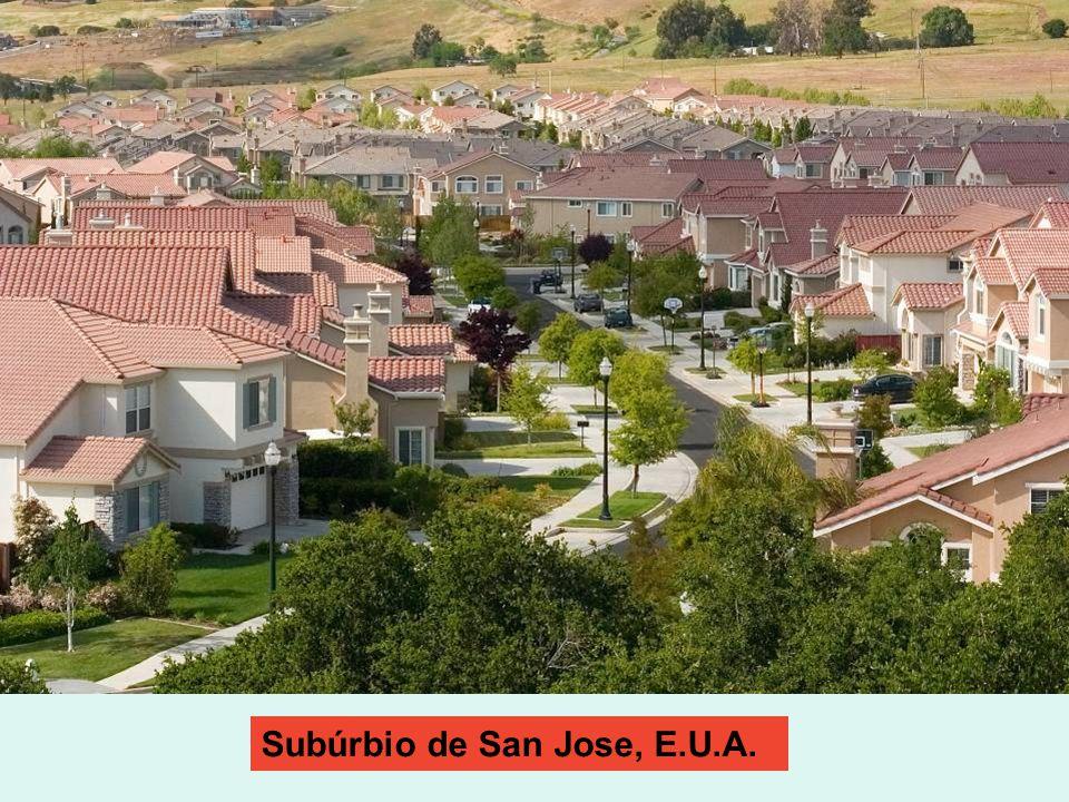 Subúrbio de San Jose, E.U.A.