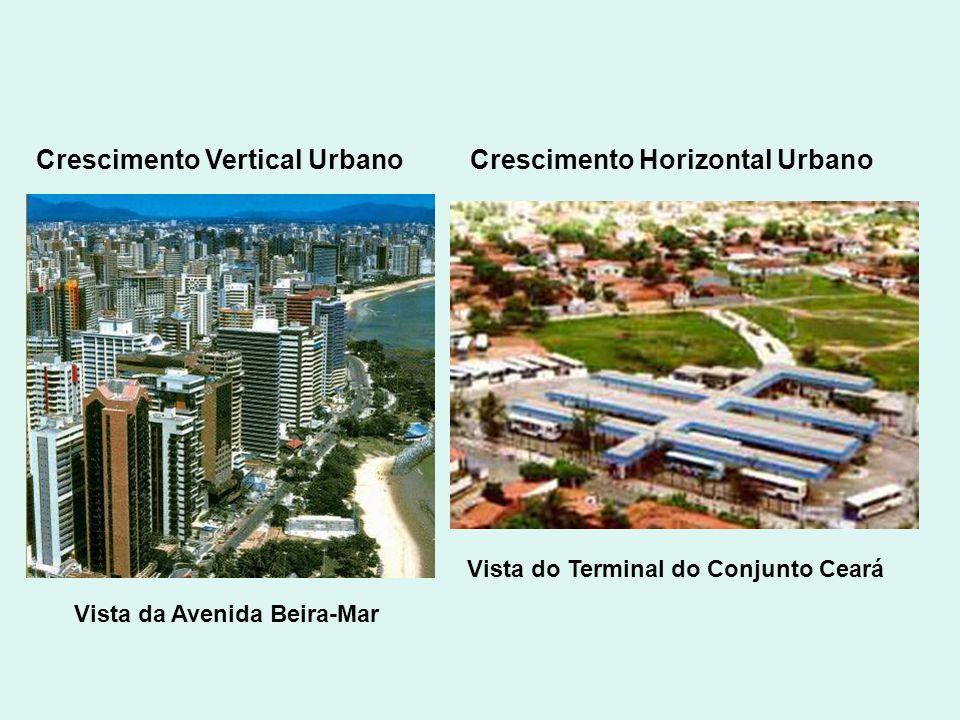 Crescimento Vertical Urbano Crescimento Horizontal Urbano