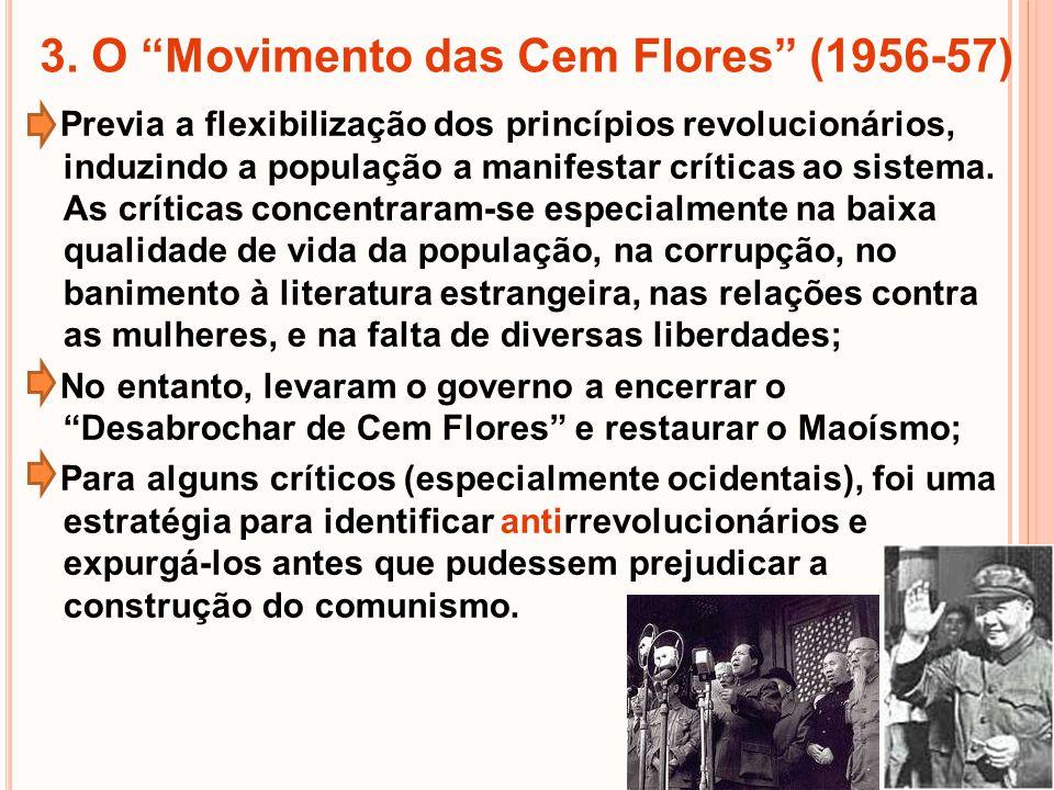 3. O Movimento das Cem Flores (1956-57)
