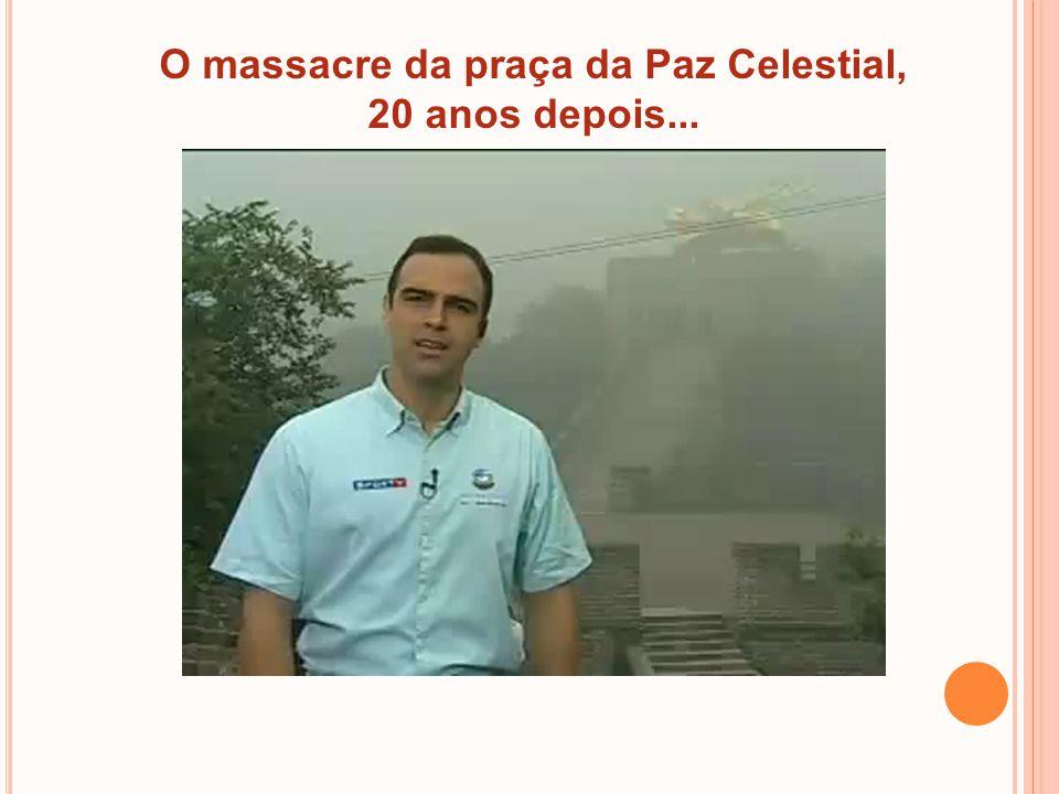 O massacre da praça da Paz Celestial,