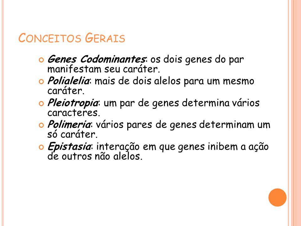 Conceitos gerais de genetica