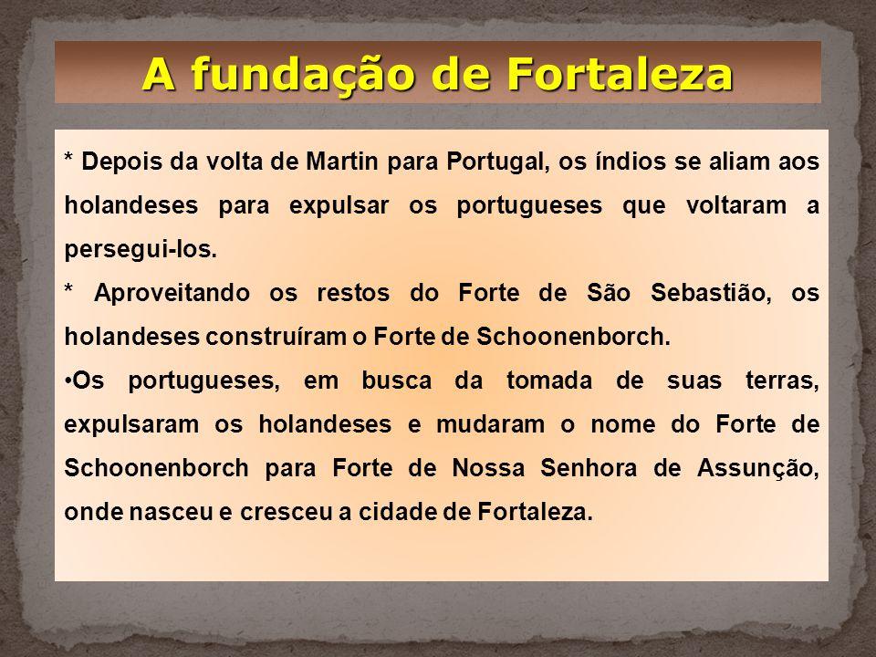 A fundação de Fortaleza