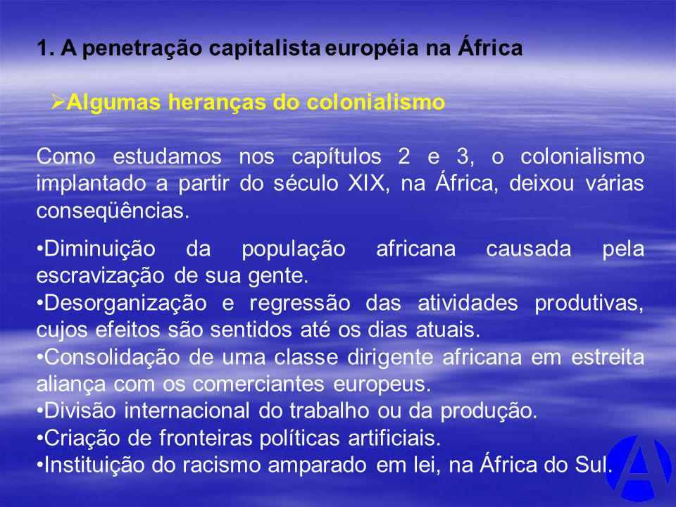 A penetração capitalista européia na África