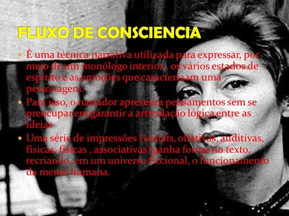 FLUXO DE CONSCIENCIA