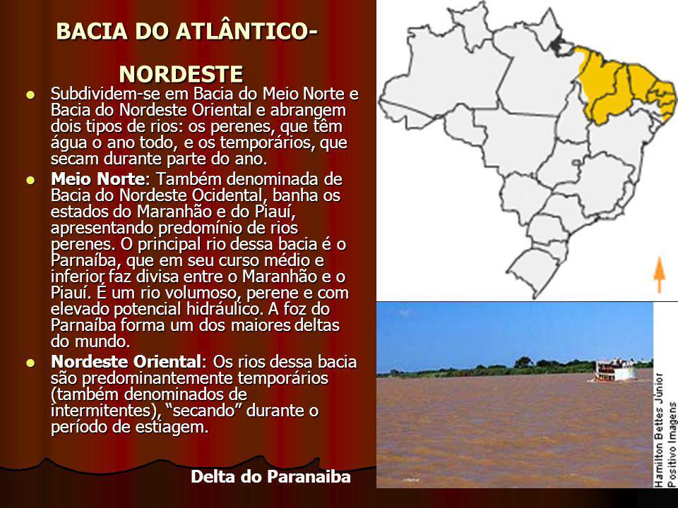 BACIA DO ATLÂNTICO-NORDESTE