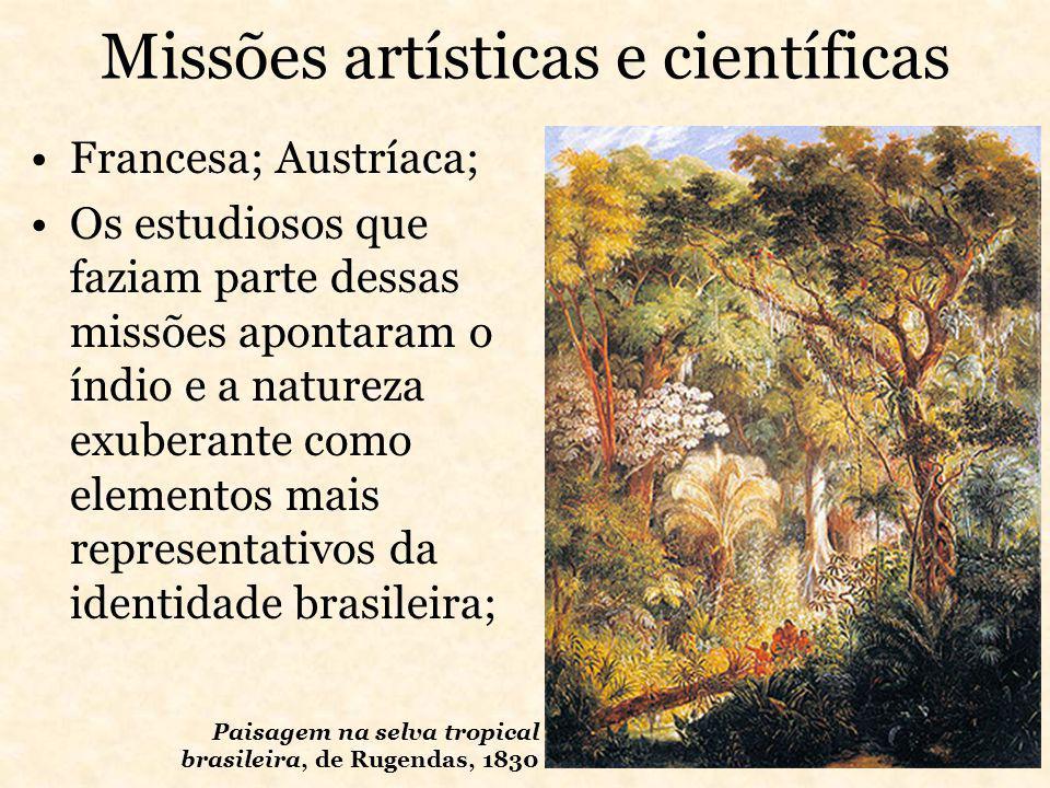 Missões artísticas e científicas