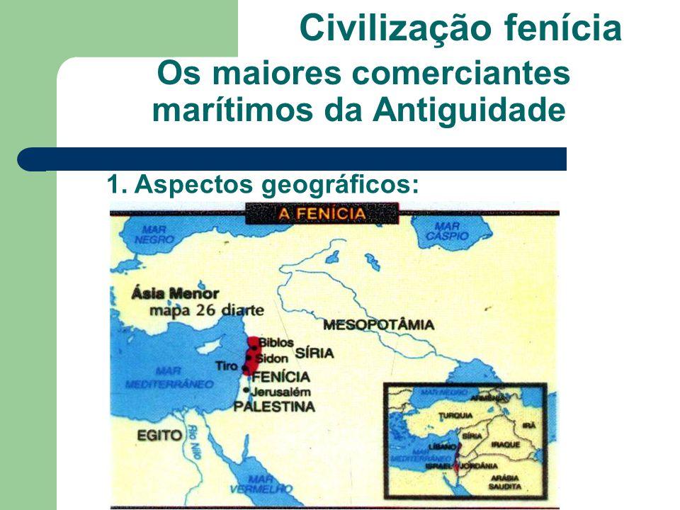 Os maiores comerciantes marítimos da Antiguidade