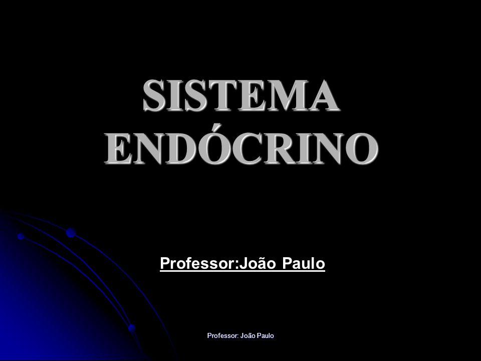 SISTEMA ENDÓCRINO Professor:João Paulo Professor: João Paulo