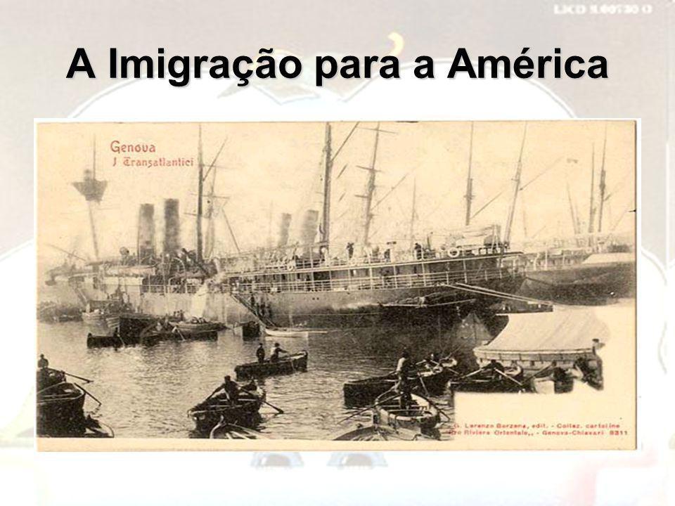 A Imigração para a América