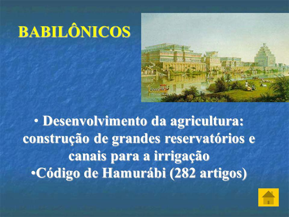 Código de Hamurábi (282 artigos)