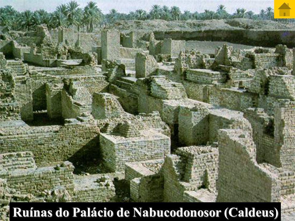 Ruínas do Palácio de Nabucodonosor (Caldeus)