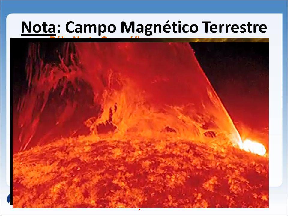Nota: Campo Magnético Terrestre