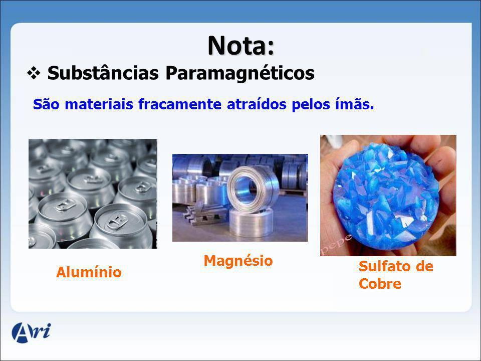 Substâncias Paramagnéticos