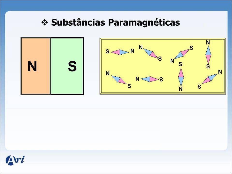 Substâncias Paramagnéticas