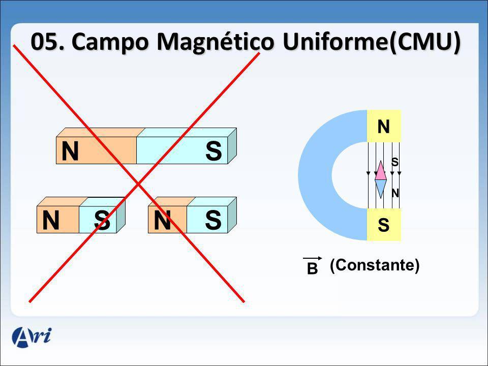 05. Campo Magnético Uniforme(CMU)