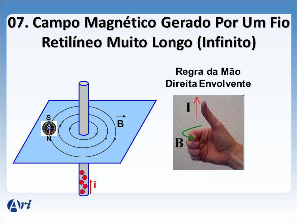 07. Campo Magnético Gerado Por Um Fio Retilíneo Muito Longo (Infinito)