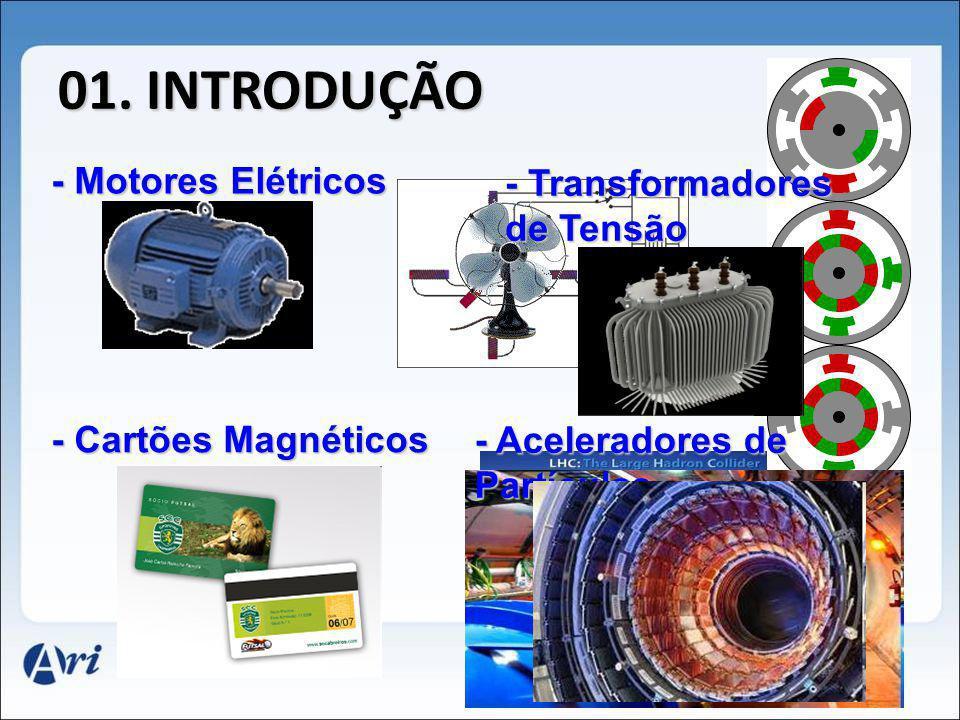 01. INTRODUÇÃO - Motores Elétricos - Transformadores de Tensão