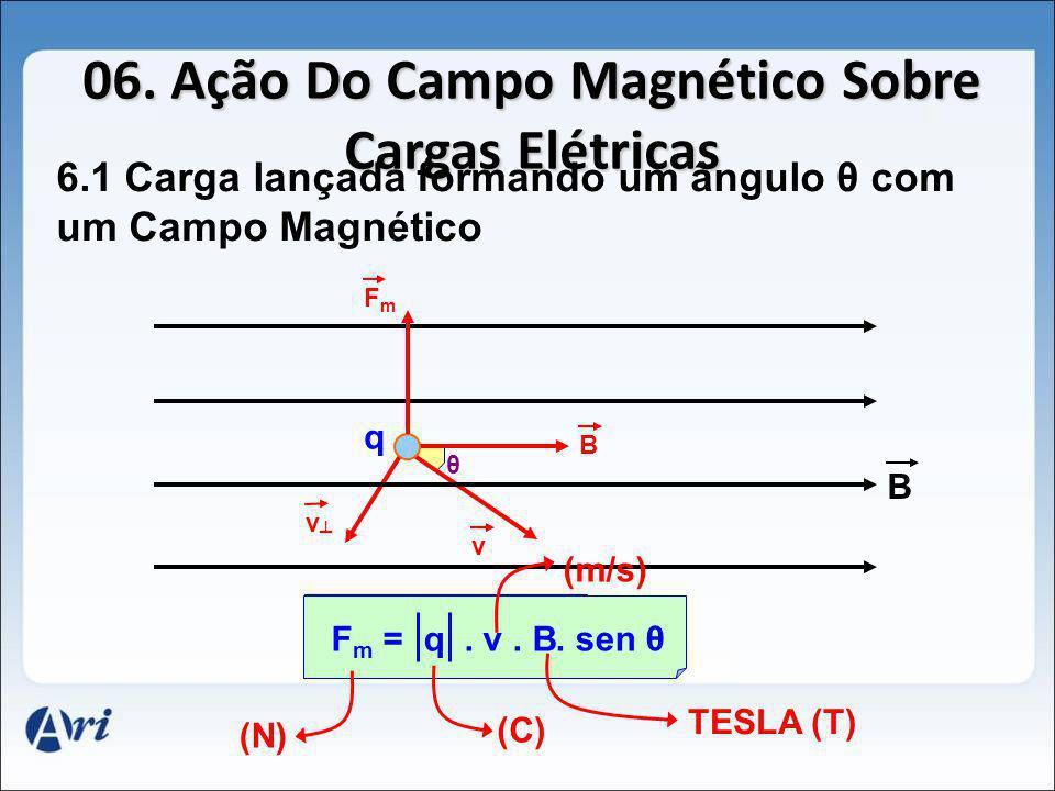 06. Ação Do Campo Magnético Sobre Cargas Elétricas