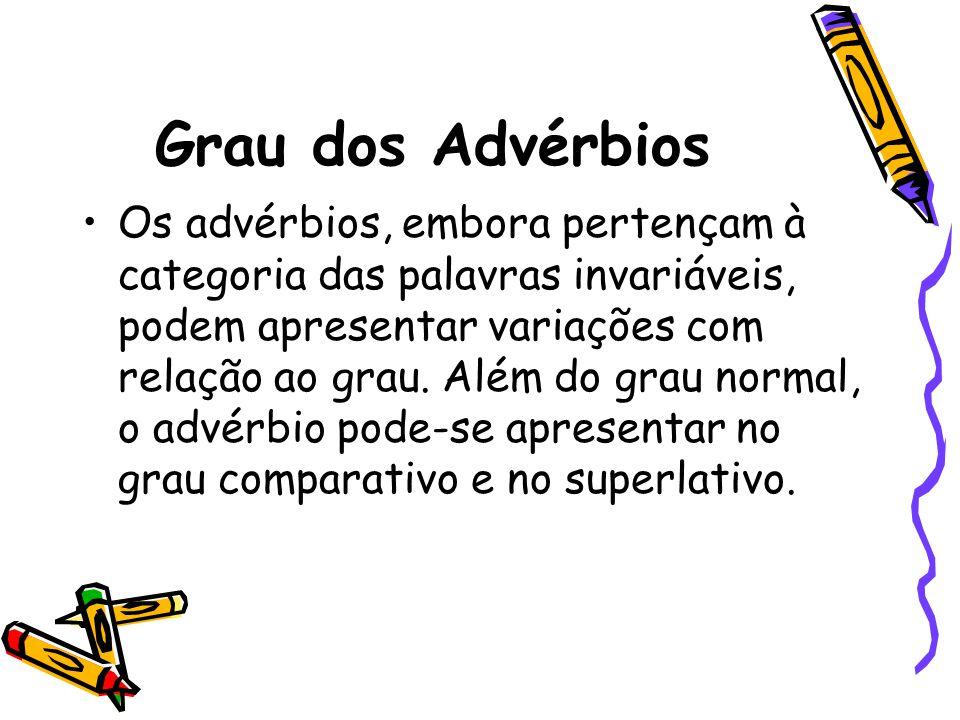 Grau dos Advérbios