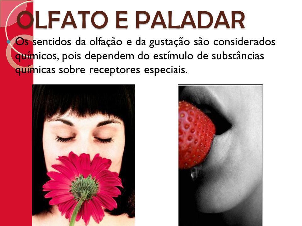 OLFATO E PALADAR