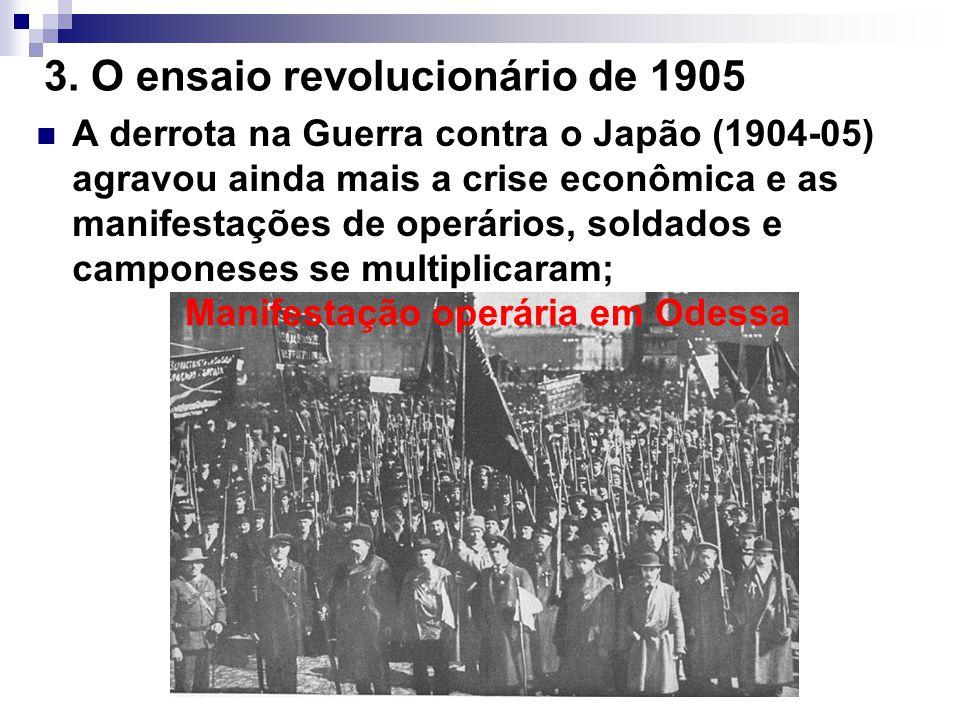 3. O ensaio revolucionário de 1905