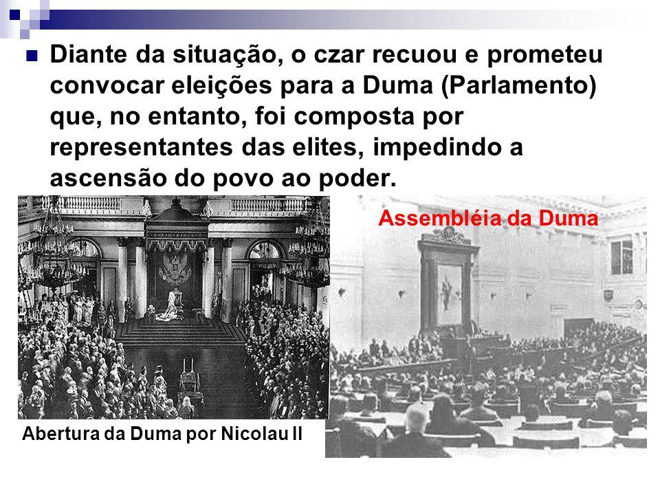 Abertura da Duma por Nicolau II