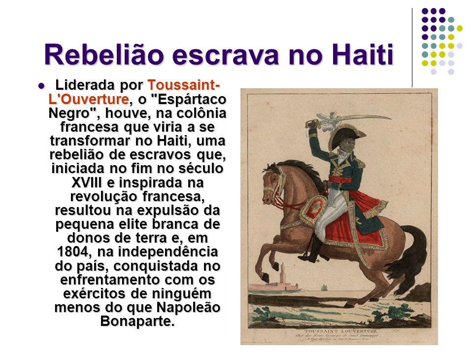 Rebelião escrava no Haiti