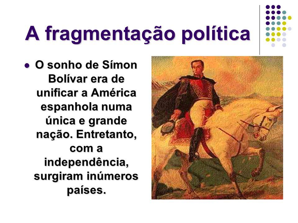A fragmentação política