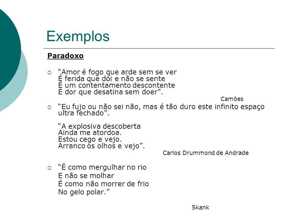 Exemplos Paradoxo.