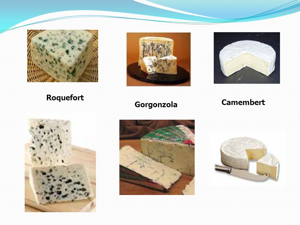 Roquefort Camembert Gorgonzola