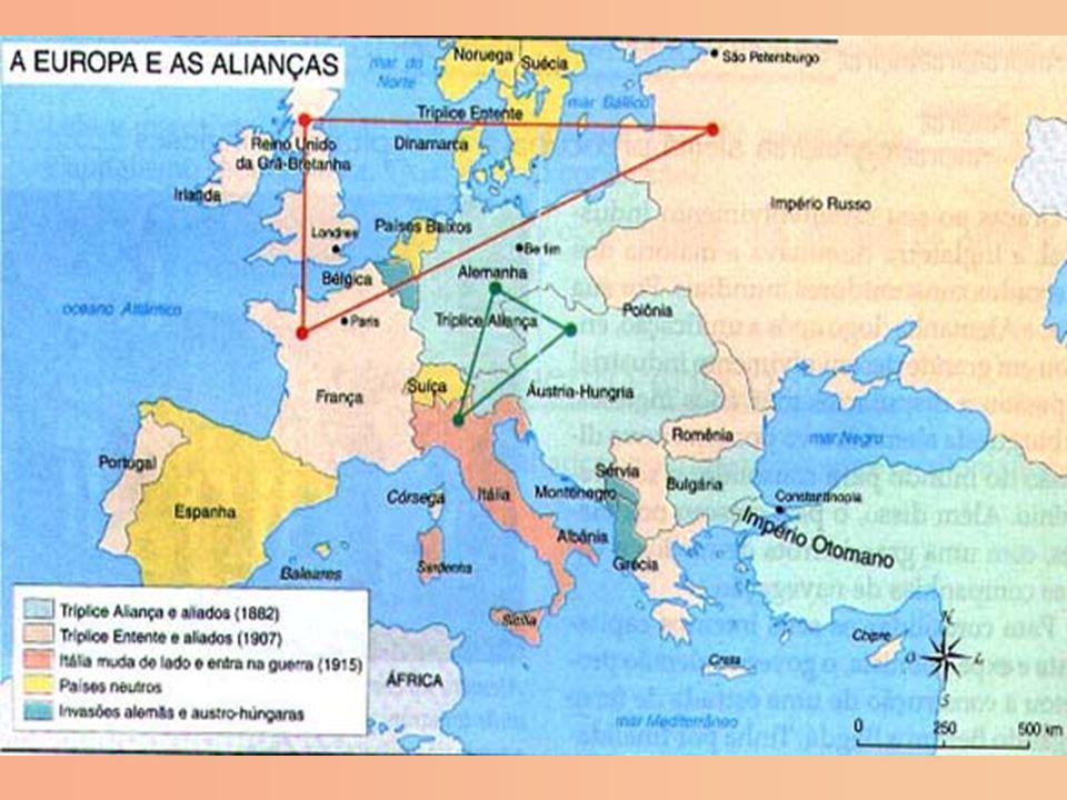 2. A política de alianças e a paz armada