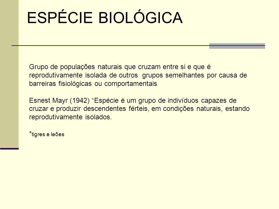 ESPÉCIE BIOLÓGICA