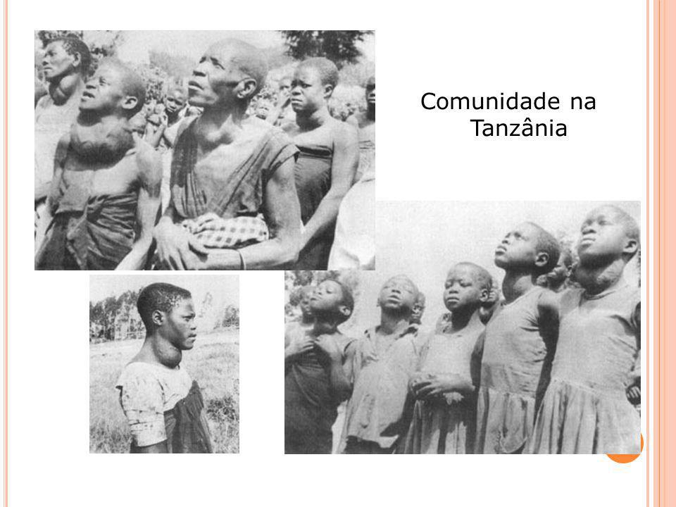 Comunidade na Tanzânia