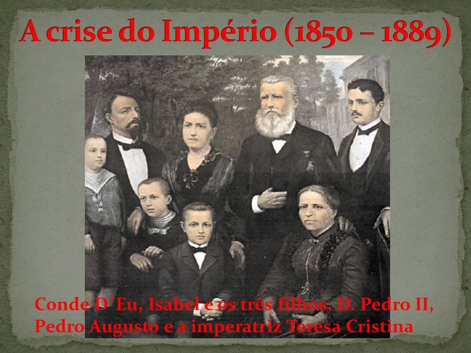 Conde D´Eu, Isabel e os três filhos, D