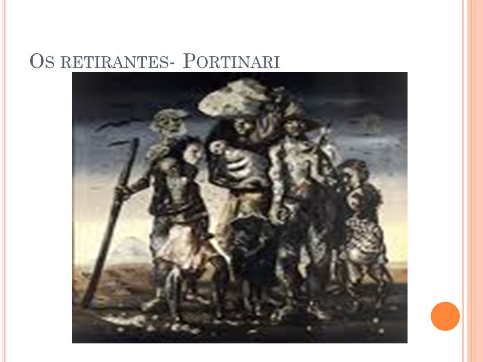 Os retirantes- Portinari