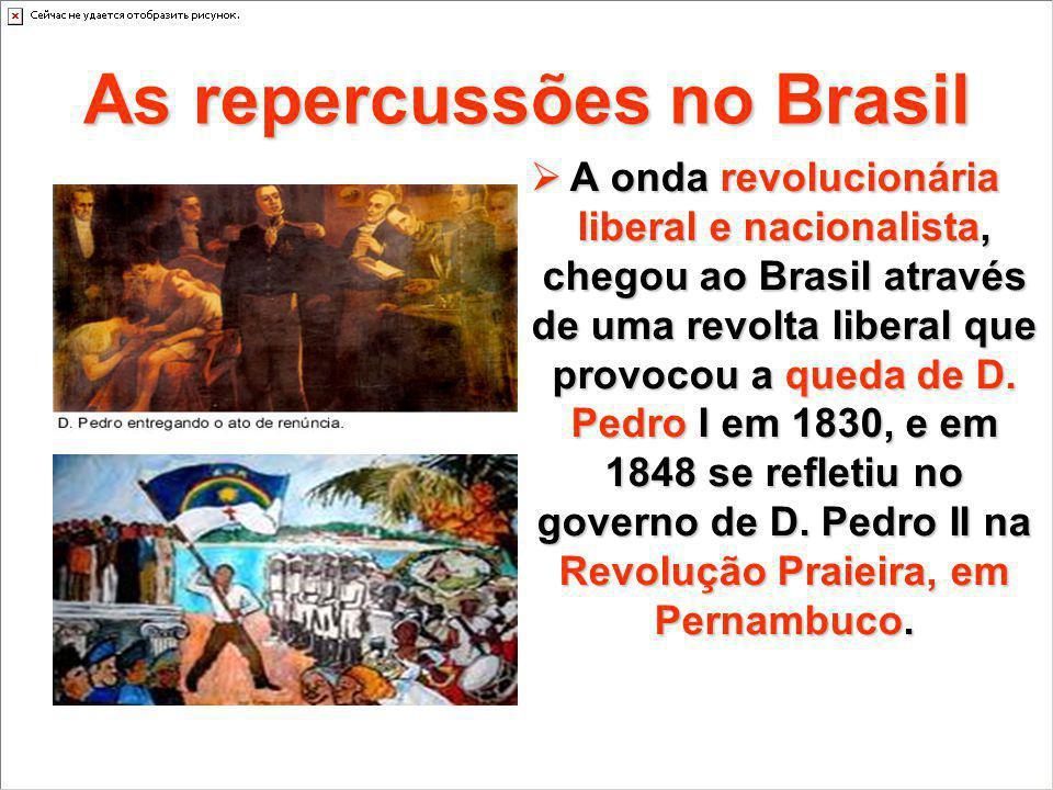 As repercussões no Brasil