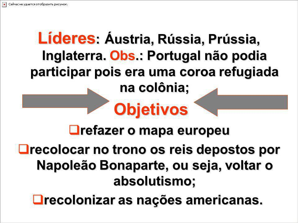 recolonizar as nações americanas.