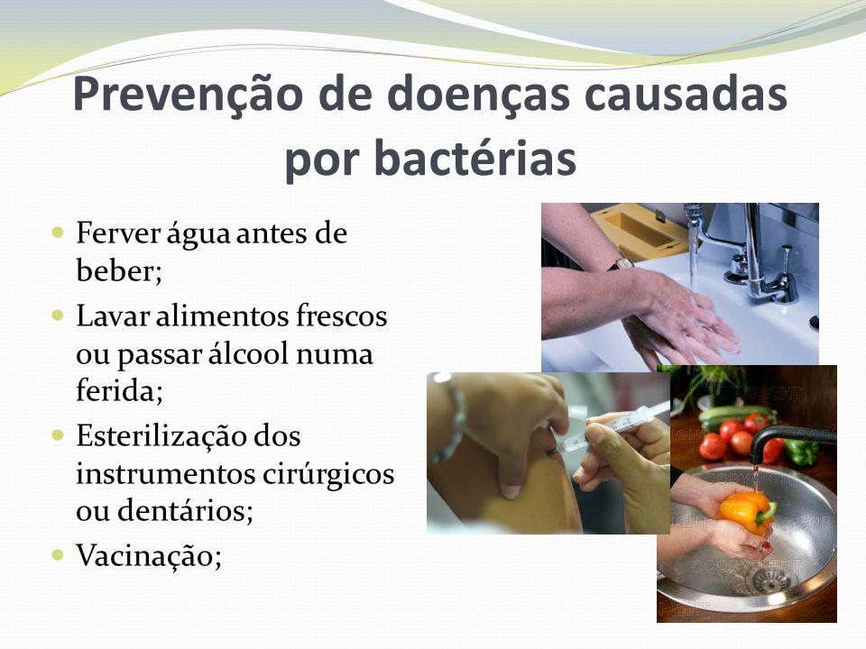 Prevenção de doenças causadas por bactérias